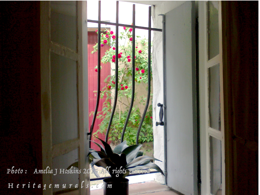 Living room window, red roses, shutters open - 003 - edited - annotated